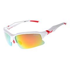 Óculos de Sol Homens / Mulheres / Unissex's Clássico / Esportivo / Fashion / sunglass Estilo Enrole Cinzento Ciclismo Moldura Metade
