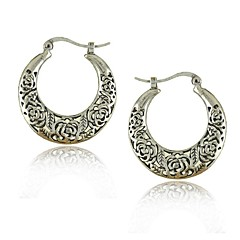 Vintage Jewelry Earrings Bohemian Tibetan Silver Earrings (More Colors)