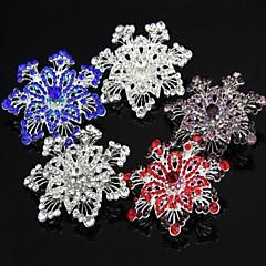 5,8cm svatební nádherný květinový krystal drahokamu fantazie speciální kostým brož pin více barev