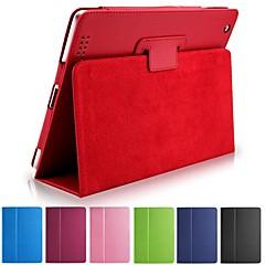 nova de couro pu clássico de corpo inteiro capinha da tampa bolsa Suporte para iPad 4/3/2