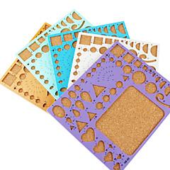 sablon make fodorított szalag papír DIY kézműves dekoráció (véletlenszerű szín, 21x18cm)