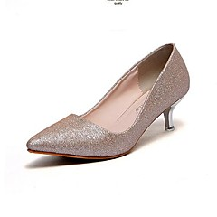 Women's Shoes Stiletto Heel Pointed Toe Pumps with Sparkling Glitter Wedding Shoes More Colors available