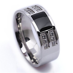 Mens Jewelry wholesale Stainless Steel Beauty Gold a lot of Crystals Mens Ring USA Size 8, 9, 10 R226