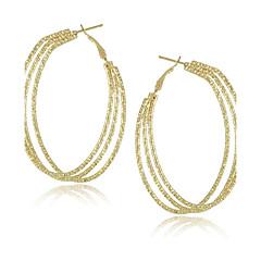 Fashion Jewelry Unique Multi Circle Big Hoop Earrings for Women