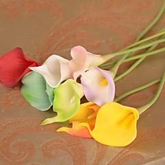 Seide / Kunststoff Calla-Lilien Künstliche Blumen