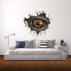 3D-Wandaufkleber Wandtattoo, monster Augendekor Vinylwandaufkleber