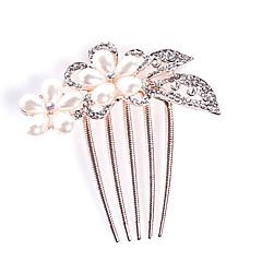 נשים נערת פרחים סגסוגת כיסוי ראש-חתונה אירוע מיוחד קז'ואל משרד וקריירה חוץ מסרקי שיער