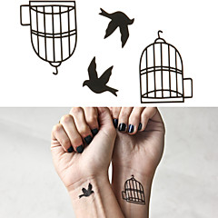 vogelkooi tattoo stickers tijdelijke tatoeages