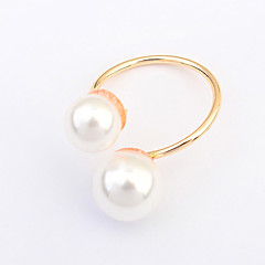 Women's European Style Fashion Ring With Imitation Pearl