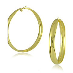 Women's Jewelry of Factory Price Big Hoop Earring 60mm Big Hoop Earrings