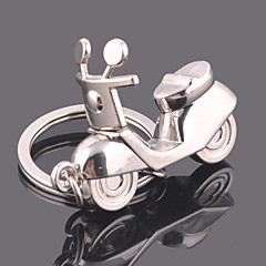 Rostfritt Stål Nyckelrings Favors-1 Piece / Set Nyckelband Personlig Silver