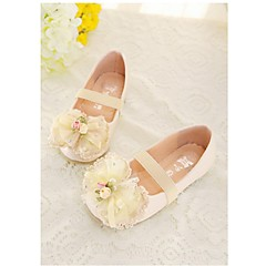 Girls' Shoes Casual Round Toe Flats Pink/Beige