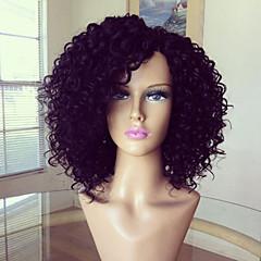 pleine perruque 100% brésilien perruque de cheveux humains crépus couleur naturelle 10-26inch cheveux bouclés vierge