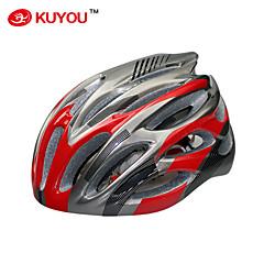 Capacete ( Branco/Vermelho/Azul/Prateado , PC/EPS ) - Cara-Total/Montanha/Estrada/Esportes - Unisexo 29 AberturasCiclismo/Ciclismo de