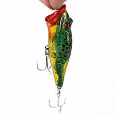 פיתיון קשה / פתיונות דיג Fishing-1 יח ' ירוק / פנטום פלסטיק-N/A דיג בים / הטלת פיתיון / דייג במים מתוקים / דיג כללי