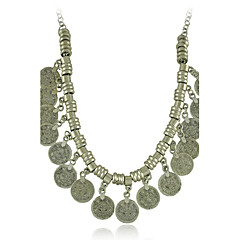 Жен. Ожерелье Вечеринка/Повседневные/на открытом воздухе Сплав металлов