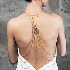 Női Testékszer Body Lánc / Belly Chain Ötvözet nyilatkozat ékszerek luxus ékszer Képernyő Szín Ékszerek Hétköznapi