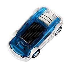 מתנת חידוש מיני למכונית צעצוע היברידי שמש כוח ומלח ילד