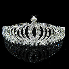 Women's Rhinestone / Crystal Headpiece-Wedding / Special Occasion Tiaras