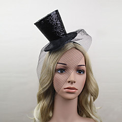 Mulheres Cetim Rede Capacete-Casamento Ocasião Especial Fascinador Chapéus 1 Peça