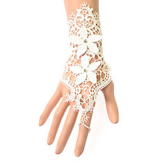 European Style Fashion Vintage Lace Bridal Jewelry Bracelet With Ring