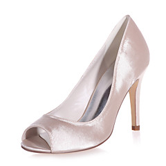 Women's Shoes Satin Stiletto Heel Peep Toe Sandals Wedding/Party & Evening Wedding Shoes More Colors available