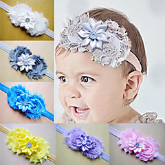 Fashion Baby Girl Toddler Infant Elastic  Hairband Headbands Baby Hair Band Flower  Rhinestone Accessories