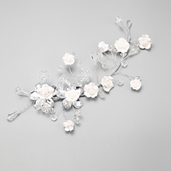Women's Flower Girl's Crystal Alloy Headpiece-Wedding Special Occasion Flowers 1 Piece
