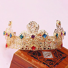 Women's Alloy Headpiece - Wedding/Special Occasion Tiaras 1 Piece