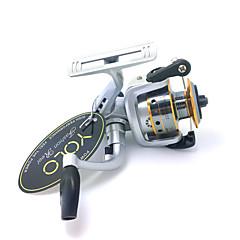Spinning Reel / Role za ribolov Smékací navíjáky 4.8:1 3 Kuličková ložiska VyměnitelnýBait Casting / Rybaření v ledu / Spinning /