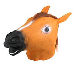 velika konjska glava stil lateks maska za zabavu