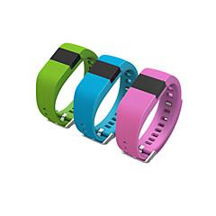 tw64 pulseira smartband vida wearable smartwatch hodômetro à prova d'água para android ios