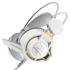 xiberia v3 fones de jogos mais de orelha levou fone de ouvido estéreo luz computador pc gamer super bass auscultadores brilhar com mic