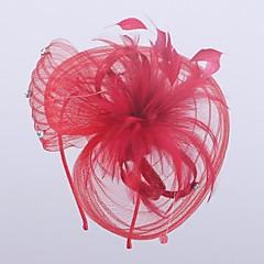 Women's Polyester Headpiece-Wedding / Special Occasion Fascinators 1 Piece