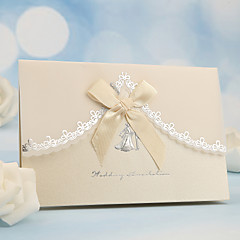 Side Fold Wedding Invitations 50-Invitation Cards Pearl Paper