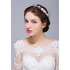 Ženy Sterlingové stříbro Slitina Imitace perly Přílba-Svatba Zvláštní příležitost Neformální Čelenky Jeden díl