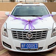Bowknot Veil Decoration Car (Length :360cm)