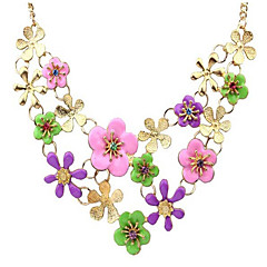 MPL  Pure and fresh and pastoral style of the flower fashion necklace