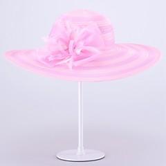 נשים אורגנזה כיסוי ראש-חתונה / אירוע מיוחד כובעים חלק 1