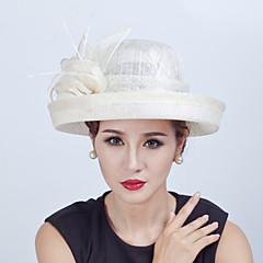 Women Sinamay Flowers  Derby Hat Fascinators Wedding Church Hat
