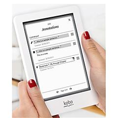 edzett üveg védőfóliát képernyővédő fólia Univerzális Kobo Touch / Glo / aura 6