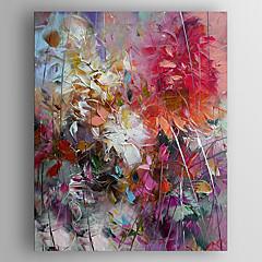 peinture à l'huile de fleurs d'impression peinture peinte à la main toile tendue avec encadrée prêt à accrocher