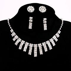 Dames Kettingen Bergkristal Legering Met de hand gemaakt Luxe Sieraden Sieraden Voor Bruiloft Feest Verloving
