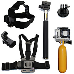 Avec Bretelles Fixation Etanches Flottant For Gopro Hero 2 Gopro Hero 3 Gopro Hero 3+ Gopro Hero 5 Tous Gopro Hero 4 Session Gopro Hero 4