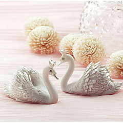 Creative new swan card holder seats (Set of 2)