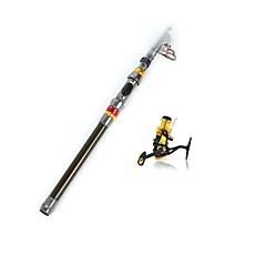 Teleskopický Kov / tvrdý plast / Nylon / Uhlík / Nerezová ocel / železo 180 MMořský rybolov / Bait Casting / Rybaření v ledu / Spinning /