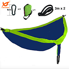 SWIFT Outdoor® Double Person 300x180cm Camping Hammock 300kg Loading 210T Lightweight Parachute Nylon Tear Resistance
