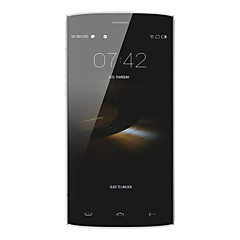 "HOMTOM® HT7 5.5 ""android 5.1 3g smartphone dual sim quad core 8MP + 2MP 1gb + 8GB sort / hvid"