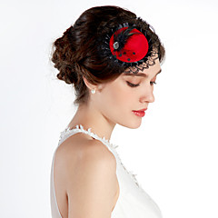 Women's / Flower Girl's Lace / Alloy Headpiece-Wedding / Special Occasion / Casual / Office & Career / Outdoor Hats