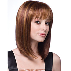 mulheres senhora perucas de cabelo sintético curto